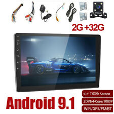 Android 9.1 Car MP5 Player Radio Stereo GPS Wifi 10.1'' Touch Screen FM 2+32GB