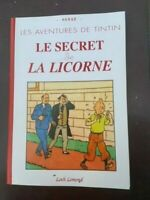 Tintin - Album Le secret de la Licorne avec les strips du Soir - NEUF!!!