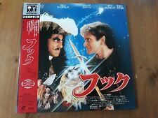 HOOK LASERDISC - JAPAN ISSUE -  NTSC - RARE! - OBI - FOLDOUT - SPIELBERG