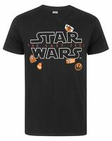 Star Wars The Last Jedi Badges Men's T-Shirt