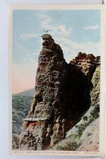 Yellowstone National Park Eagle Nest Rock Postcard Old Vintage Card View Post PC