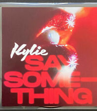Kylie Minogue Say Something CD PROMO VERY VERY RARE