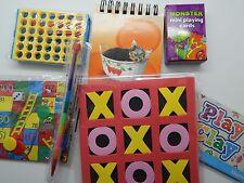 Travel Set, Party Bag pack, wedding activity bag, children, 7 items toys