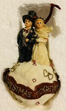 Boyd's Dollstone -1st Christmas Together- Now & Forever Ornament