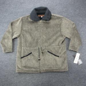 Dakini Jacket Women's Size M Gray Fleece Lined Woven Jacket
