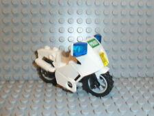 LEGO® City 1x Motorrad Polizei weiß für Figuren aus Set 7235 7237 #419