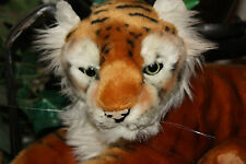 "17"" Busch Gardens Plush Tiger Cat Orange Souvenir Toy Animal #DD2"