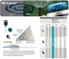 Buse MP ROTATOR CORNER Rotative Arroseur HUNTER Réglable 45°>105° / 2,4>4,50m