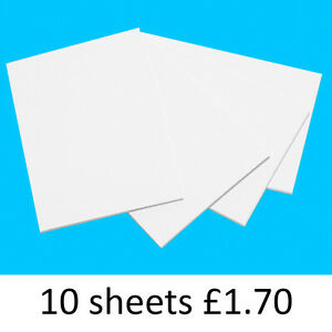 A4 Quality White Card 210g for Arts and Crafts