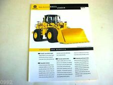 New Holland LW270 Wheel Loader Color Sales Sheet From 1999