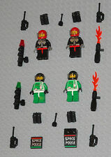 LEGO Minifigures 4 Space Marines Army Blasters Space Police Minifigs Guys Halo