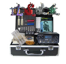 New High Quality Tattoo Power 4 machine complete tattoos equipment set