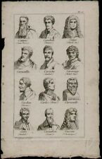 Estampes, gravures et lithographies du XIXe siècle et avant estampes baroques