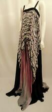 Roberto Cavalli Floral Print Long dress/ Gown/ Kaftan Uk10  IT40 New