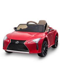 Kinderauto von Lexus Kinderfahrzeug Elektroauto mit MP3 Licht Musik Rot