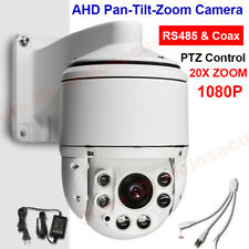 "CCTV Security 4"" MINI High Speed PTZ Camera AHD 1080P 2MP 20X Optical Zoom IP66"