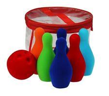 Bowling en mousse jeu de quilles, Rubber Green toy, Schaum Spielzeug