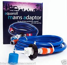Genuine Aquaroll Mains Adaptor Kit - Caravan / Motorhome  FL HITCHMAN