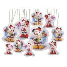 MICKEY & MINNIE HOLIDAY STRING LIGHT SET Christmas Disney Decoration Battery NEW
