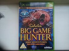 Cabela's Big Game Hunter 2005 Adventure (Microsoft Xbox, 2005) - European...