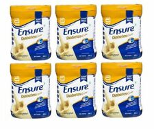 Abbott (Glucerna SR)Ensure Diabetic  Sugar Free Vanilla Flavor 400gm x 6pic.