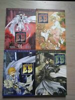 E's 1-4 Lot of 4 Shonen Manga, English, 16+, Satol Yuiga