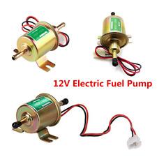 Aluminum Alloy Car Gas Diesel Inline Low Pressure Electric Fuel Pump HEP-02A 12V
