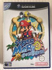 Super Mario Sunshine - Nintendo GameCube PAL Complete Free P&P
