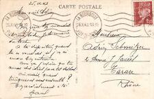 Cartes postales timbrées timbres état français 1942-1943 Maréchal PETAIN 10