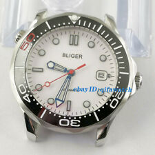 41mm New bliger white dial luminous sapphire crystal automatic mens watch 2923