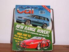 CAR MAGAZINE AUG-1990 - BMW 318iS E30, Golf GTi 16v, Honda CRX, Fiesta RS Turbo