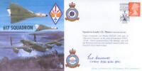 CC40 WW2 WWII DAMBUSTERS 617 squadron RAF cover signed Dams Raid LES MUNRO