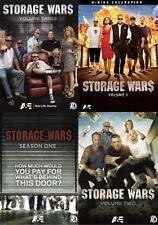 Storage Wars Season 1 VOL 2 3 4 DVD Set 65 Episode auction TV Show All Series R1