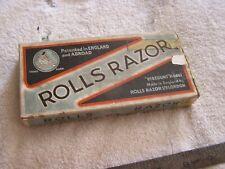 Rolls Razor Viscount Model Original Box Papers