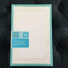 New Gartner Pearl Swirl 50 Count Invitation Set