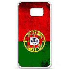 Coque housse étui tpu gel motif drapeau Portugal Samsung Galaxy S6