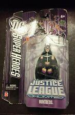 "New 2007 DC Super Heroes Justice League Unlimited Huntress Figure 4"" Mattel"