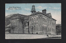 Missouri Valley Iowa Ia 1916 Old Third Ward School Building by the Bluff