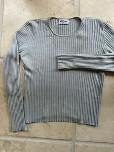 Brora Scottish Cashmere Baby Blue Sweater S-M