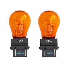 3157 3757 A 183 indicador de señal de vuelta Amarillo Ámbar Cuña Bombillas PY27/7W