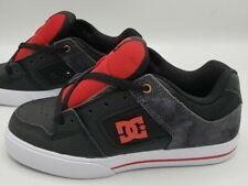 DC Pure SE Skate Shoe Sneakers Black Red Men's Size 6