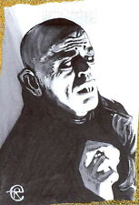 Sci-Fi Horror Movie Posters 2 Sketch Card from Eli Rutten