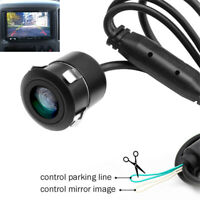 HD 150 ° Rearview Front Side  Camera With Mirror Image Parking Line Waterproof