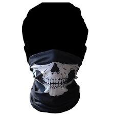 Totenkopf Schädel Ski Maske Halstuch Sturmhaube Motorrad Skull Schlauchschal