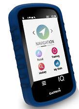 TUFF LUV Silicone Gel Skin Case Cover for Garmin Edge Explore - Blue