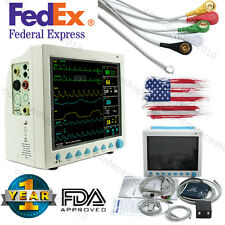 "Contec CMS8000 ICU Vital Signs Patient Monitor, 12.1"" LCD+6 Parameters, FDA CE"
