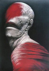 'Caligula' signed gicle'e edition of 50 by WIESLAW WALKUSKI