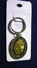 Never Drive Faster Than Your Angels Can Fly -  Spin Key Chain - AngelStar 1111