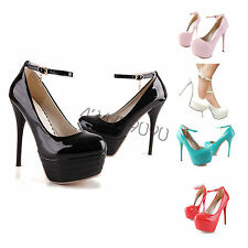 Hot Women Ladies High Stiletto Heel Party Platform Pumps Shoes AU All Size YD001