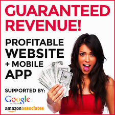 Profitable Website & Mobile App - Make At Least $190/Month. Guaranteed Income!